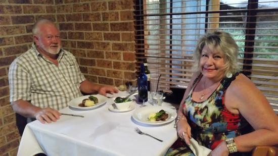 The Quarry Restaurant: Our Wedding anniversary
