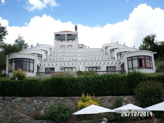 Parte Trasera Del Hotel Picture Of Terrazas De Merlo Apart