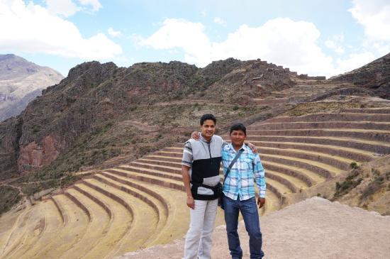 Private Tours Peru : Pisac ruins - With Fernando