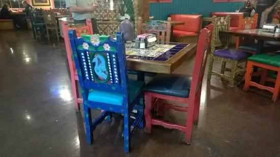 Rosau0027s Cafe U0026 Tortilla Factory: Colorful Chairs