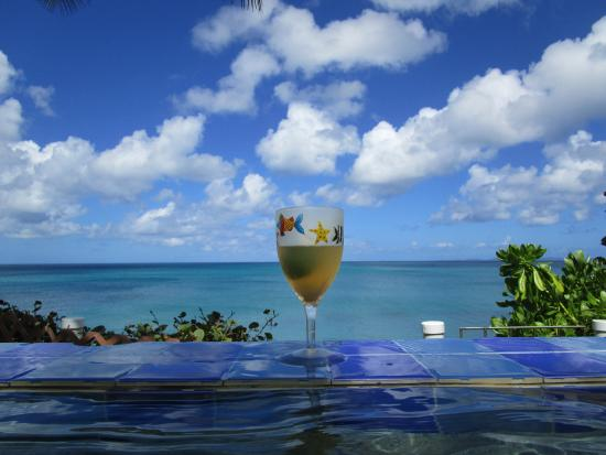 Evamer: Drinks at the infinity pool