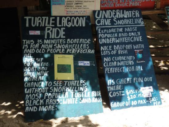 Mystery Island : Kevins billboards