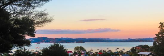 Russell TOP 10 Holiday Park: Sunset