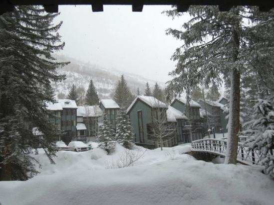 Vail Racquet Club Mountain Resort: Looking out from my condo