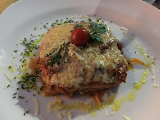 La Forchetta: Meat Lasagna