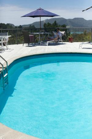 Waimanu Lodge Whangaroa Northland: Loved the pool
