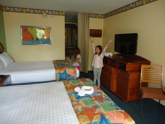 Nicely Decorated Room Picture Of Disney S All Star