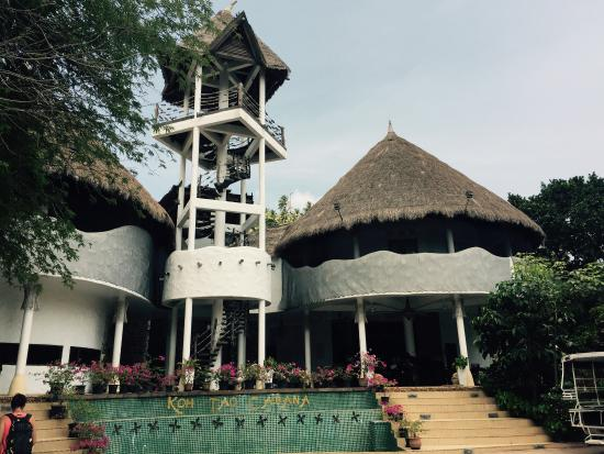 Koh Tao Cabana: Magnifique réception