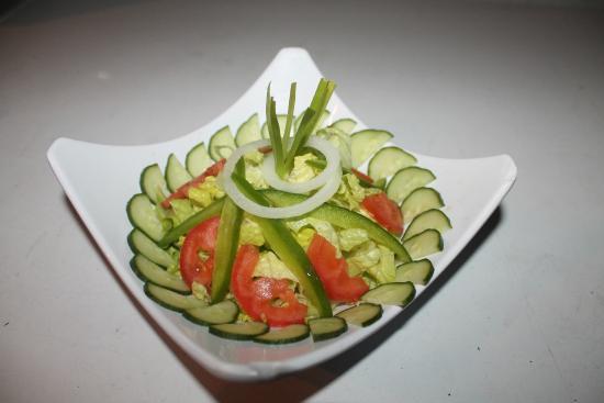 Simpson Bay, St Marteen/St. Martin: Garden Salad