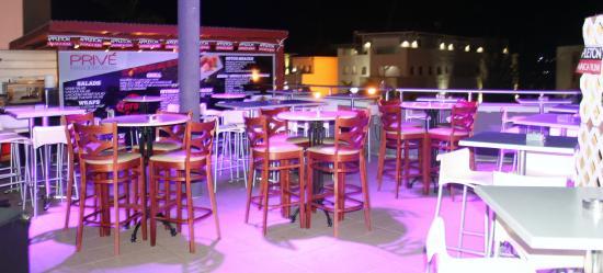 bahía de Simpson, St. Maarten: Outdoor Seating