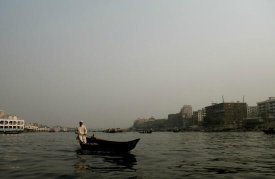 Sadarghat : On the river