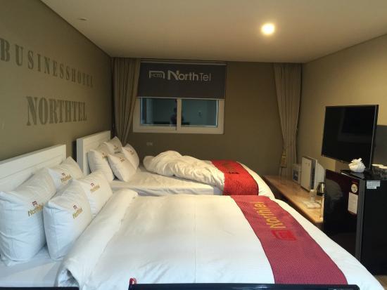 Hotel North Tel: Bedroom