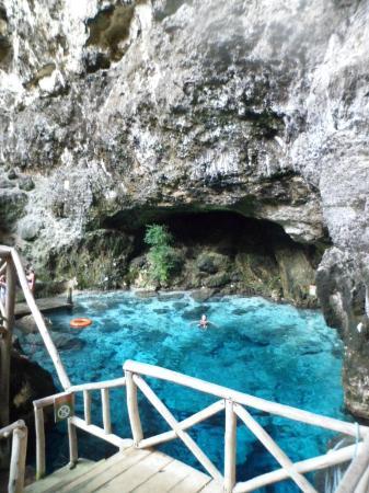 Now Larimar Punta Cana: Hoyo Azul - Blue Lagoon