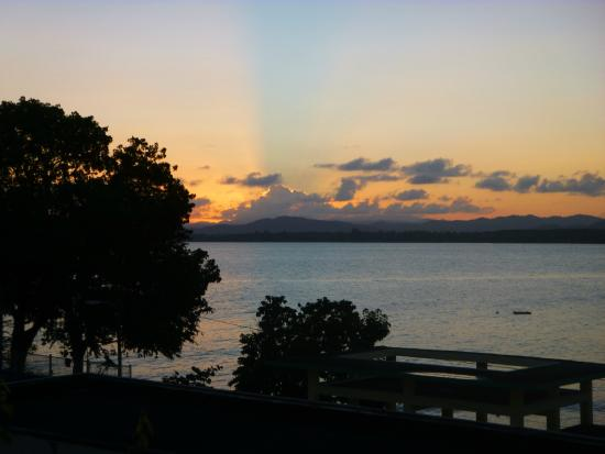 Casa Libre Puerto Rico: Sunset from the pooldeck