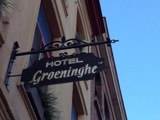 Hotel Groeninghe: Enseigne