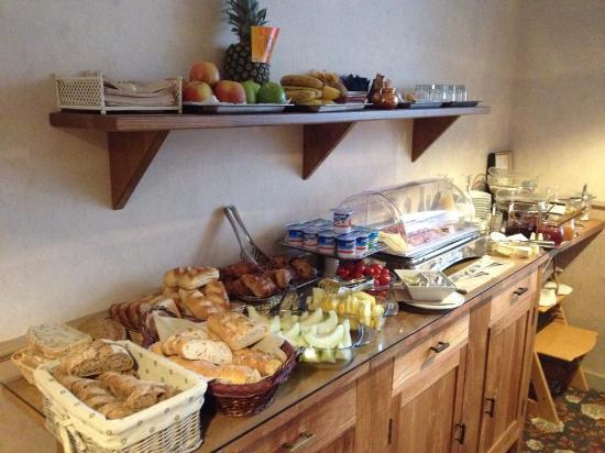 Hotel Groeninghe: Excellent petit déjeuner