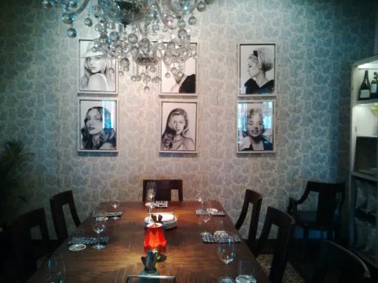 private dining at le quartier - picture of le quartier restaurant