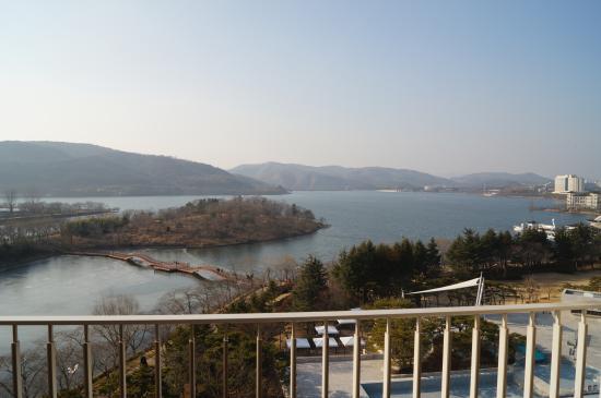 Hilton Gyeongju : 호숫가전망