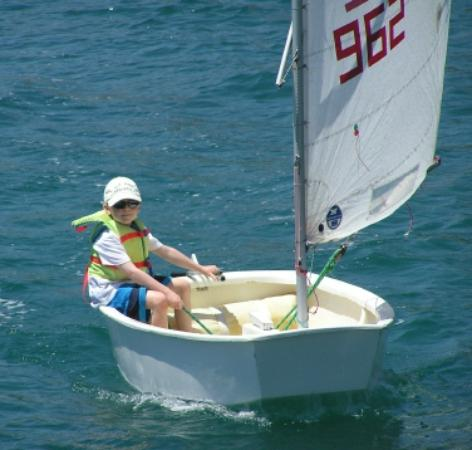 оптимист лодка размеры