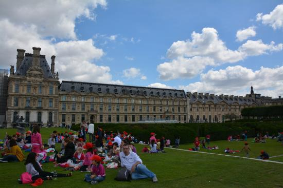 Picture of jardin des tuileries paris for Jardin des tuileries