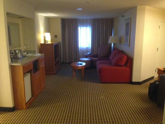 Hilton Chicago Oak Brook Suites: Quarto