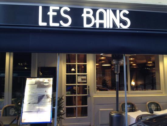 Brasserie les bains picture of brasserie les bains for Bains les bains restaurant