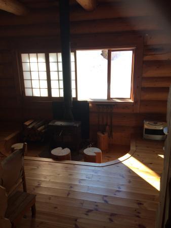 Aqua Alpine Hakuba: Cottage lounge
