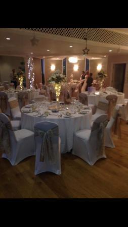 Whitehall Hotel : Wedding Set up