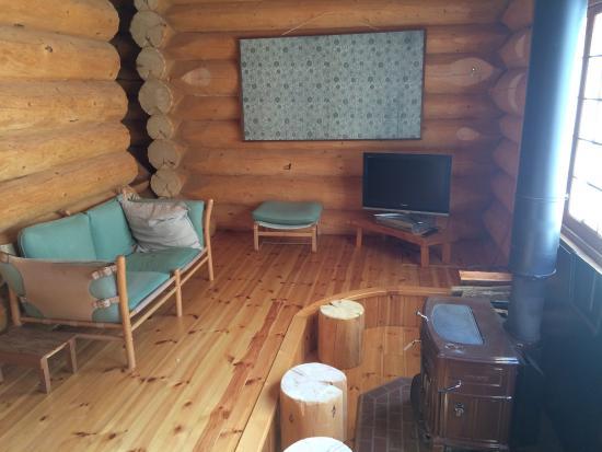 Aqua Alpine Hakuba: Lounge room in our cottage