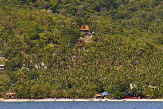 The Rocks Villas : Our four villas viewed from the sea
