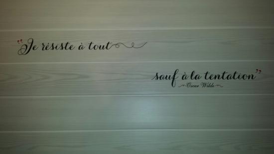 Citation Oscar Wilde   Picture of l'Escale des Saveurs, La