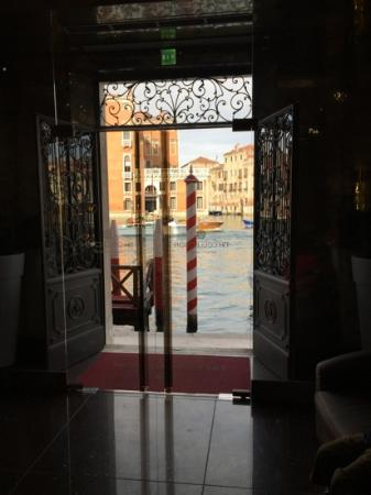 Looking out front door onto Grand Canal - Picture of NH Collection ...