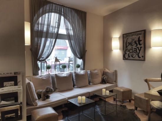 Hotel Sempione : lobby bar