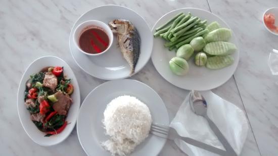The Lion King Hotel: Petit déjeuner Thai