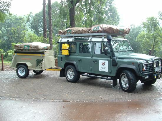 land rover defender puma with trailer picture of south africa 4x4 alberton tripadvisor. Black Bedroom Furniture Sets. Home Design Ideas