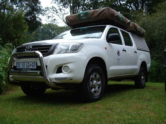 South Africa 4x4: Toyota Double Cab 4x4