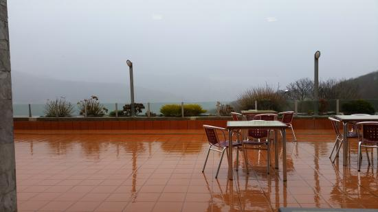 El Zangano Hotel Parrilla: Terraza cafeteria