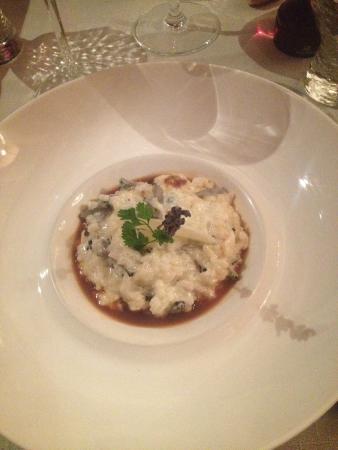 Le Manoir: Risotto à la truffe (vrais morceaux de truffe et pas juste une goutte d'huile pour donner le goû