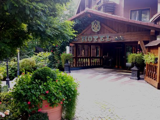 Waldgasthof Am Letten: Eingang