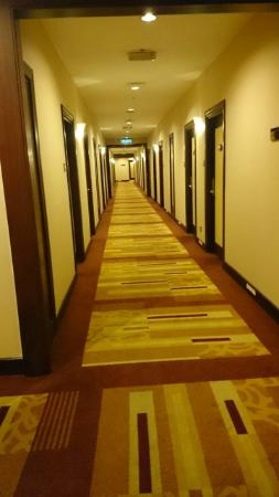 Imperial Palace Hotel: walkaway to room