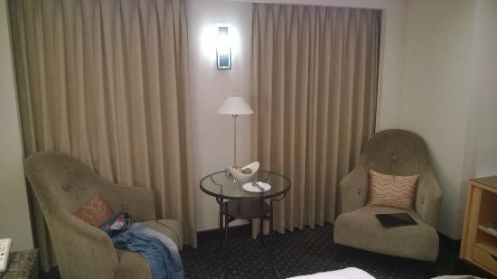 Tempus Hotel Taichung: Kącik wypoczynkowy