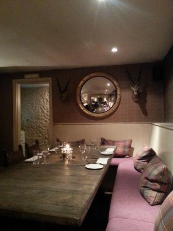 The Kings Head : The dining area