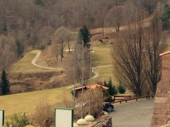 Domaine de Falgos: Vu sur golf