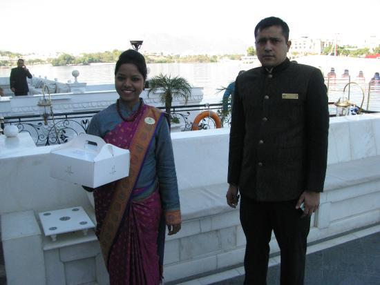 Taj Lake Palace Udaipur: Packed lunch