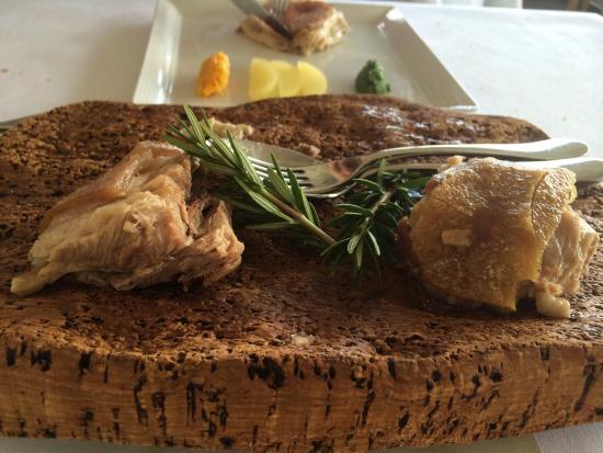 Pilu At Freshwater: Roast pork