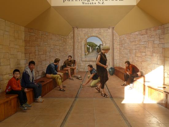 Puzzling World: Roman Toilet