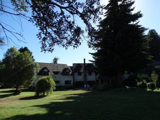 Posada del Angel: Jardines, prados, lugares de descanso y recreación.