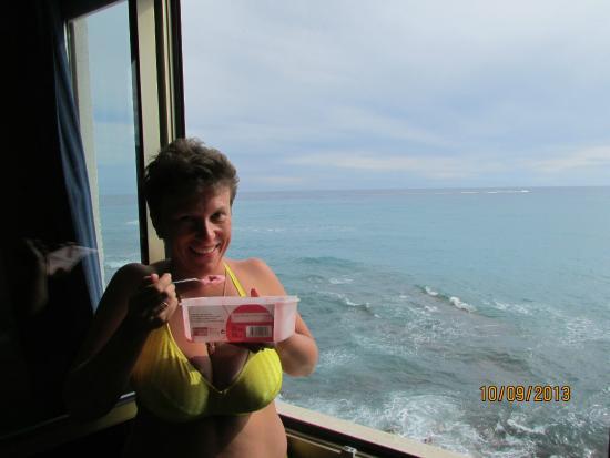 Hotel Rocce del Capo: Вид из окна