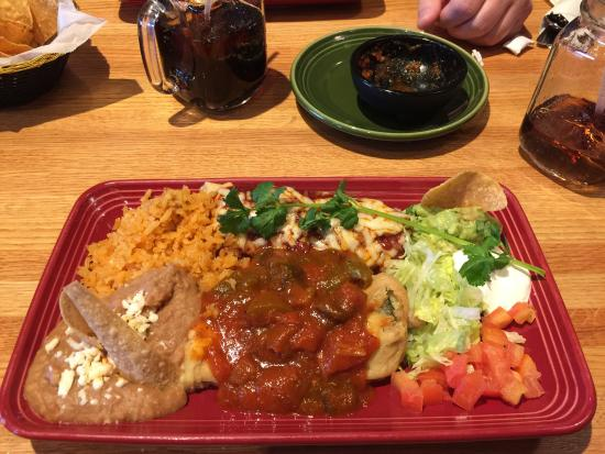 Yummy! Chili rellenos and a homemade