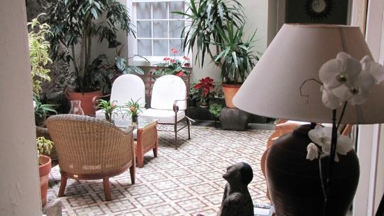 La Casa De Vegueta: Patio/Innenhof